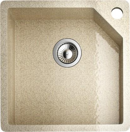 Кухонная мойка без крыла, гранит натуральный, бежевый Omoikiri Nagara ONA-50-1-GR-BG
