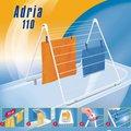 Сушка для белья на борт ванны Leifheit Adria 110 72708
