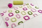 Коврик для ванной комнаты хлопковый 50x80см Spirella VISION 4006915