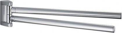Держатель-рогатка двойной для полотенец 360мм, хром Colombo LINK B2413
