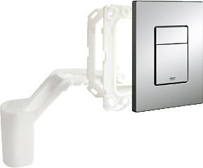 Кнопка смыва для инсталляции для унитаза, с ёмкостью для размещения ароматических таблеток, хром Grohe SKATE Cosmopolitan Set Fresh 38805000