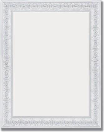 Зеркало 39x49см в багетной раме алебастр Evoform BY 1343