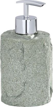 Ёмкость для жидкого мыла серая Wenko ROCKS 20033100