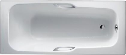 Ванна чугунная с отверстиями для ручек 160x70см, Antislip Jacob Delafon PRELUDE E2934-00