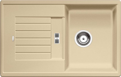 Кухонная мойка оборачиваемая с крылом, гранит, шампань Blanco ZIA 45 S 514728