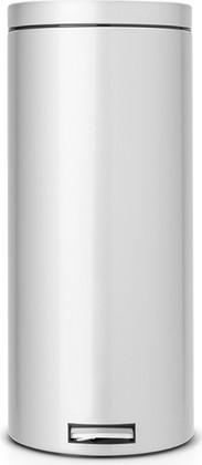 Мусорный бак 30л с педалью, MotionControl, серый металлик Brabantia 348723