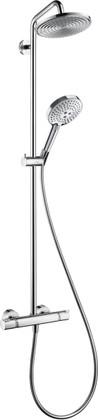 Душевая система с термостатомt поворотная, хром Hansgrohe Raindance Select S 240 Showerpipe EcoSmar 27116000
