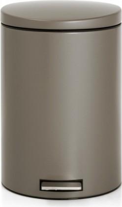 Мусорный бак 20л с педалью, MotionControl, серо-коричневый Brabantia 478444