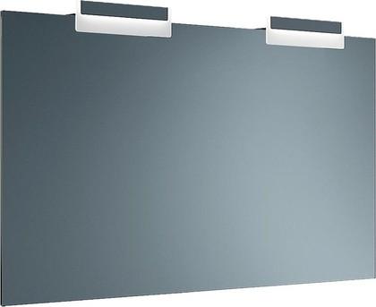 Зеркало с сенсорным выключателем, 2 светильника 130x3x70см Verona Moderna MD706