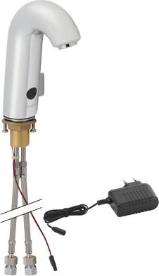Смеситель бесконтактный тип 60 для умывальника с наружной регулировкой температуры, 230В Geberit 115.722.21.1
