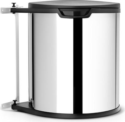 Ведро для мусора встраиваемое 15л сталь полированная Brabantia 418181