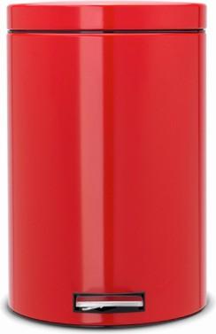Мусорный бак с педалью 20л, пламенно-красный Brabantia 106026