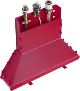 Скрытая часть смесителя для ванны на 3 отверстия Hansgrohe 13437180