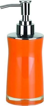 Ёмкость для жидкого мыла с дозатором пены оранжевая Spirella SYDNEY Acrylic 1013627
