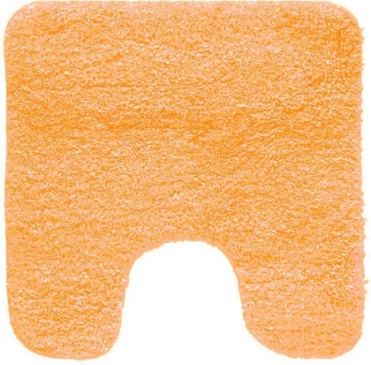 Коврик для туалета 55x55см оранжевый Spirella GOBI 1012529