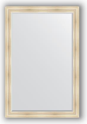 Зеркало с фацетом в багетной раме 119x179см травленое серебро 99мм Evoform BY 3627