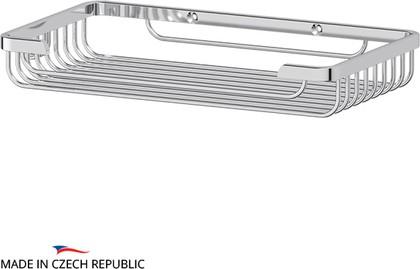 Полочка-решётка для ванной прямоугольная, 4х15х26см FBS RYN 021