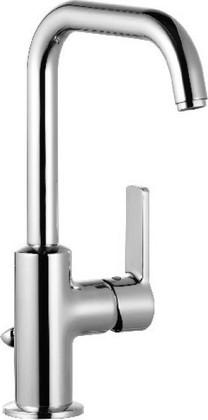 Смеситель для раковины однорычажный высокий с донным клапаном, хром Kludi LOGO NEO 370230575