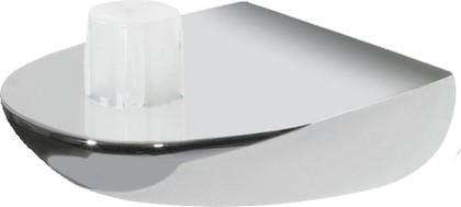 Универсальная хромированная подставка для туалетного ёршика Spirella Darwin, Toronto, Atlanta, Texas 1006663