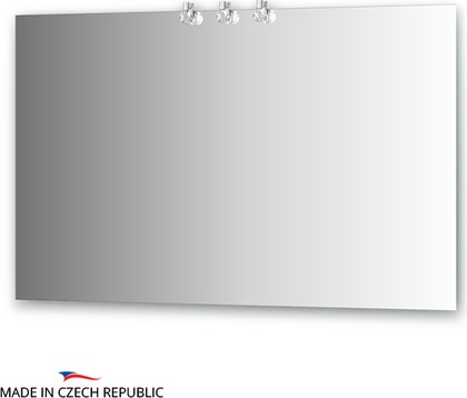 Зеркало 120х75см со светильниками Ellux CRY-D3 0215