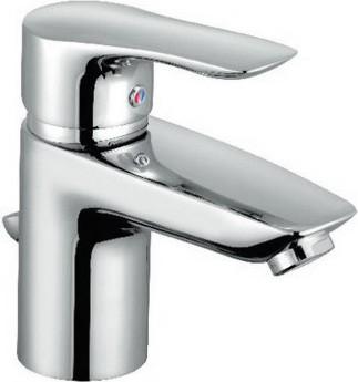 Смеситель для раковины однорычажный с донным клапаном, хром Kludi TERCIO 384850575