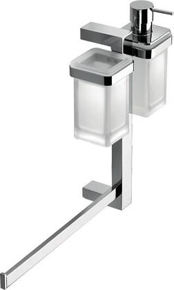 Штанга подвесная с аксессуарами для ванной, хром Colombo UNITS B9121.S.CR-VA