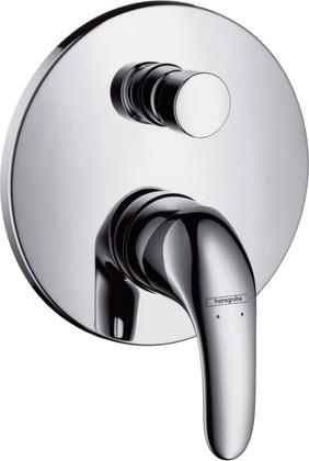 Наружная часть смесителя для ванны с переключателем (к ibox universal), хром Hansgrohe Focus E 31744000