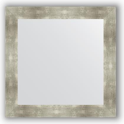 Зеркало в багетной раме 80x80см алюминий 90мм Evoform BY 3250