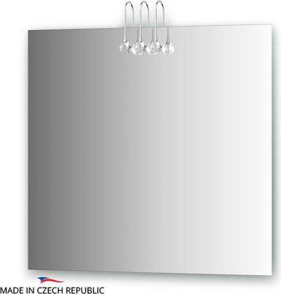 Зеркало 80х75см со светильниками Ellux CRY-C3 0211