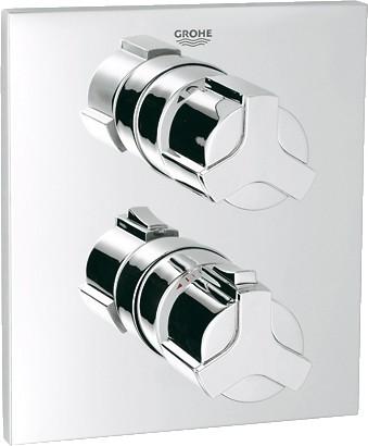Термостат для ванны встраиваемый без излива и без встраиваемого механизма, хром Grohe ALLURE 19446000