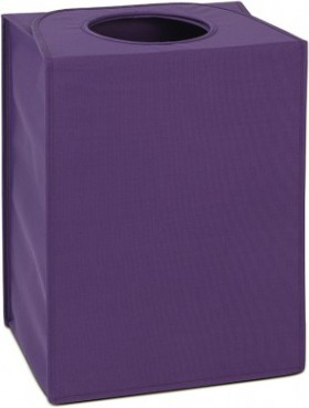 Сумка для белья прямоугольная 55л фиолетовая Brabantia 101847