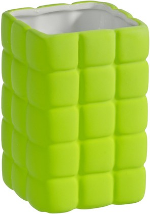 Стакан зелёный Wenko CUBE 20446100