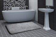 Коврик для ванной 50x80см жемчужный  Grund LEX 2622.11.4002