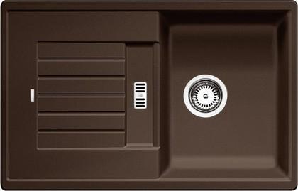 Кухонная мойка оборачиваемая с крылом, гранит, кофе Blanco ZIA 45 S 515070