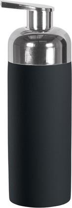 Ёмкость для пенного мыла фарфоровая чёрная Kleine Wolke PUR 5055926848