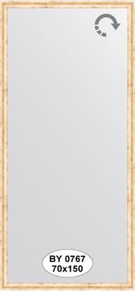 Зеркало 70x150см в багетной раме красная бронза Evoform BY 0767