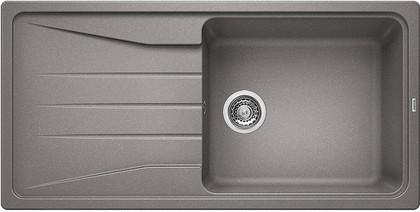 Кухонная мойка оборачиваемая с крылом, гранит, алюметаллик Blanco SONA XL 6 S 519691