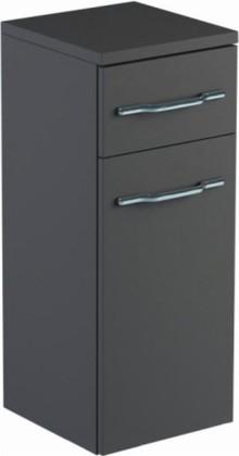 Шкаф средний 60см подвесной, 1 ящик, корзина 30х32х74см Verona Area+ AA401
