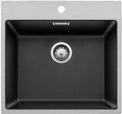 Кухонная мойка, гранит антрацит / нержавеющая сталь Blanco SUBLINE 500-IF/A SteelFrame 520932