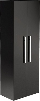 Шкаф-пенал подвесной, подсветка, 2 двери, зеркало 60x34x166см Verona Lusso LS304