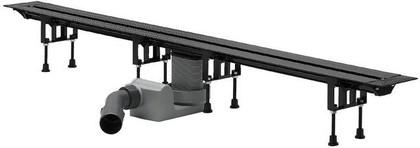 Душевой лоток 300-1200мм из пластика с укорачиваемым корпусом Viega Advantix Vario 686277