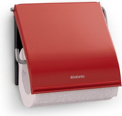 Держатель с крышкой для туалетной бумаги, пламенно-красный Brabantia 107863