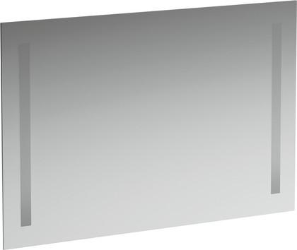 Зеркало 90x62см с двумя встроенными вертикально светильниками Laufen CASE 4.4724.6.996.144.1