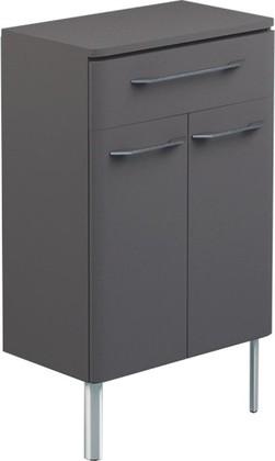 Шкаф средний напольный, 2 двери, 1 ящик, 60x34x80см Verona Moderna MD414