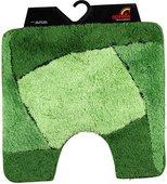 Коврик для туалета 55x55см зелёный Spirella FOCUS 1014211