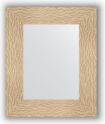 Зеркало в багетной раме 46x56см золотые дюны 90мм Evoform BY 3021