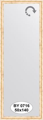 Зеркало 50x140см в багетной раме красная бронза Evoform BY 0716