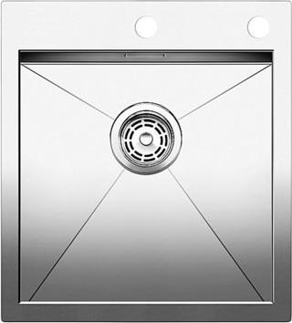 Кухонная мойка без крыла, с клапаном-автоматом, нержавеющая сталь зеркальной полировки Blanco ZEROX 400-IF/A 515639