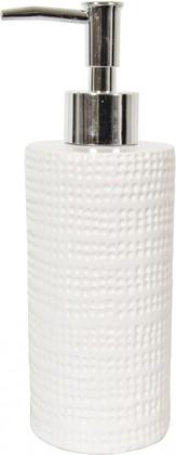 Ёмкость для жидкого мыла керамическая белая Spirella VENISE 4007033