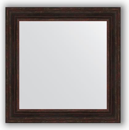 Зеркало в багетной раме 82x82см темный прованс 99мм Evoform BY 3254
